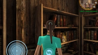 Players can switch between a first-person and third-person perspective.