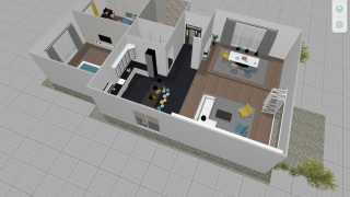 3D versions can be edited as well but are mostly useful for visualizing spaces.