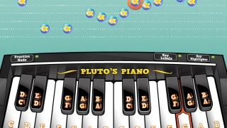 Practice mode: Play the in-app keyboard while watching the same melody along with the musical staff. Kids can opt to turn key labels and highlights on or off.