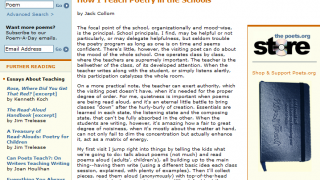 A series of essays from writers and teachers can help inspire educators to teach poetry.