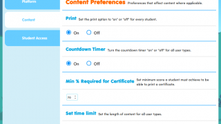 Users can adjust many aspects of the site to suit their preferences.