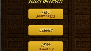 Choose from three levels of difficulty; earn more points for harder levels.