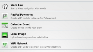 Create codes for text, events, images, phone numbers, apps, and more.