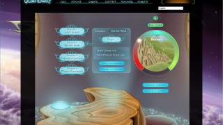 Students can see how far they're into the game and their high score for each chapter.