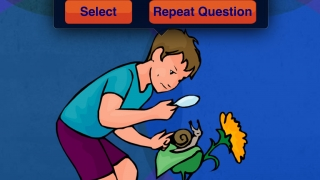 """Kids """"read"""" the images to answer questions requiring inferring and thinking abstractly."""