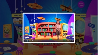 Helpful videos walk students through how to use the site's features.