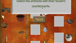 Kids excavate Roman artifacts and then solve puzzles and games related to those artifacts.