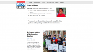 Students can learn about kid reporters and what inspires them.