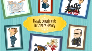 Kids can choose from six different scientists as they begin to explore.