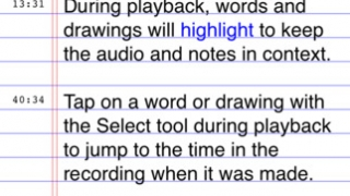 Users can type and record audio simultenously.