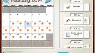 Students are rewarded for longterm use of the calendar tool.