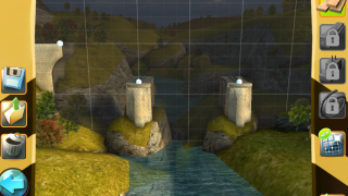Later stages add new materials, such as concrete pillars.