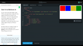 jQuery introduces animation and interactivity to Web pages.