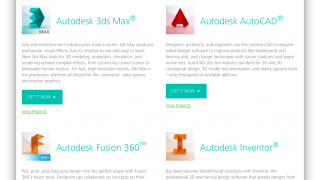 All of Autodesk's software is free to download for education users.