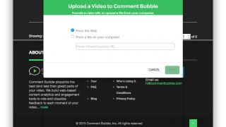 Adding videos is exceptionally easy.