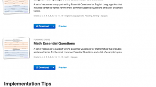 Ready-to-use resources are easy to search and implementation tips are included too.