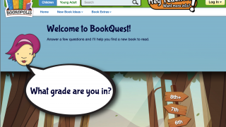 Discover books with BookQuest, a great way for students to find new and interesting books.