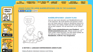 Teachers are also supplied lesson plans to incorporate MBC seamlessly; there are ESL lesson plans as well as literature lesson plans.