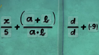 Kids get to see fully formed equations.