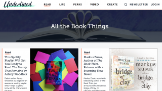 Listen to authors share their favorite parts of their latest books under the Read tab.