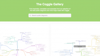 The Coggle Gallery provides ideas for inspiration.