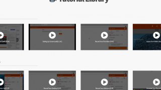 Take advantage of the tutorial library to learn basic and advanced techniques.