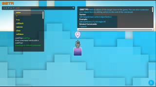 Write code and build a game level.