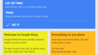 Google Keep lets users capture text, to-do lists, images, and ideas and sync them across devices.