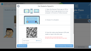 Kids can easily join your class using a class code, QR code, or Google sign-in.