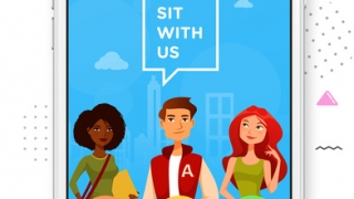Sit With Us is a social app designed to help teens find a seat at lunch.