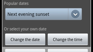 The Time Travel feature allows students to select popular dates or any date and time to see the sky from a different perspective (and dimension).
