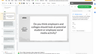 The Google Slides add-on can make presentations more engaging and interactive.