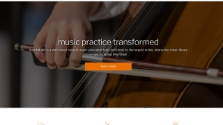 SmartMusic is a web-based music practice tool for in-school and out-of-school music educators, performers, and students.