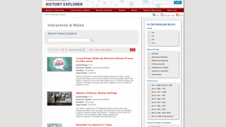Interactives & Media provides engaging, information-filled activities for students.