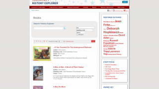 Books for all reading levels are included in search results, with easy search options.