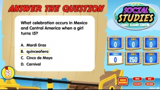 A variety of cultures are represented throughout the game.