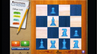 Puzzle in expert level with eight pieces.