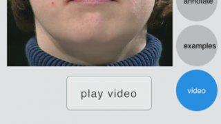 Videos clearly illustrate how the mouth moves to produce speech sounds.