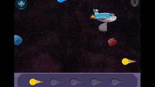 Space Collector is a fun game, though there isn't much science content.