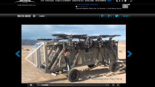 Video clips show recent advancements in the technologies used in space.