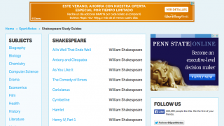 For free summary and analysis of Shakespeare, go here.