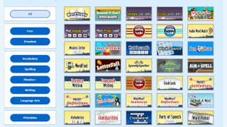 There are 35 different spelling and vocabulary learning activities.