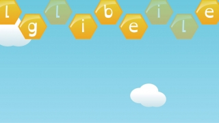One game asks students to click on the available letters to spell a target word.