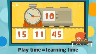 Todo Telling Time focuses on teaching the concepts of time to elementary kids.