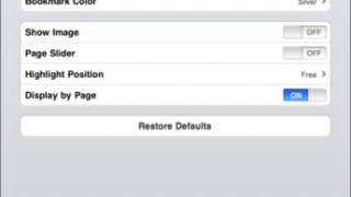 A range of reader settings helps give access to a variety of students.