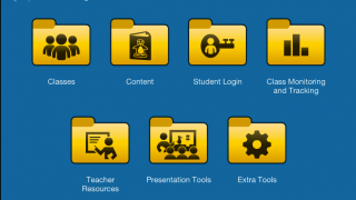 A teacher dashboard provides individual student information and complete control for teachers.