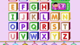 """Beginner activities are organized by letter, with an extra set of vowels to introduce """"long"""" and """"short"""" ones."""