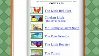 Students put it all together to read short animated stories.