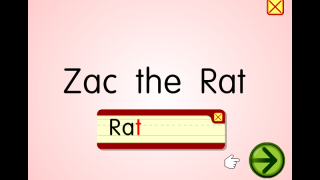 The first topic covers the short 'a' sound with a song, interactive blending sentence strips, and a story about Zac the Rat in full sentences, plus a video about how the alphabet got its order.