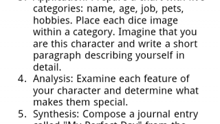The Help and Tips page ends with an extended writing and speaking activity.